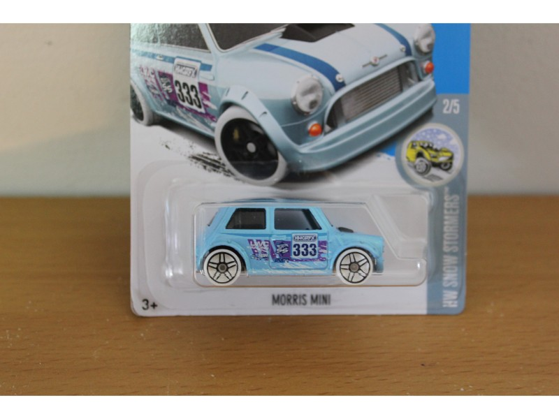 231365 Hot Wheels Morris Mini The Toy Collector