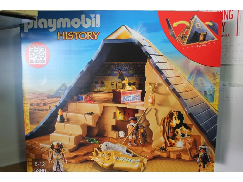 Playmobil History Pharaoh/'s Pyramid 5386 NEW